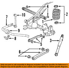 Hummer GM OEM 03-07 H2 Stabilizer Sway Bar-Rear 19299538