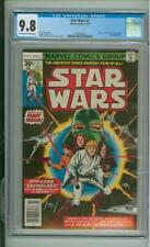 Star Wars #1 CGC 9.8 1st Issue High Grade White Pages 1977
