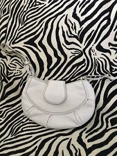 Cole Haan Off White Leather Wristlet