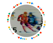 Latvia 2010 Winter  Olympics Vancouver Canada Hockey   MNH  Unused  stamp