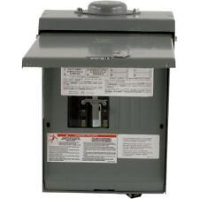 Square D QO 30/100 Amp 4-Space 8-Circuit Temporary Transfer Generator Panel
