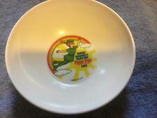 Deka Melmac Peter Pan Peanut Butter Bowl 1983 USA