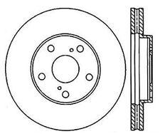 Power Slot Slotted Brake Rotor fits 1992-2006 Toyota Camry Avalon Sienna  POWER
