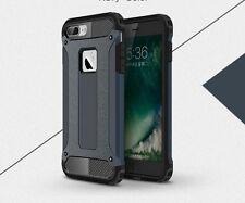 iPhone 7 Hülle Case  Farbe Dunkelblau (Metal Slate) Top Cover Tasche