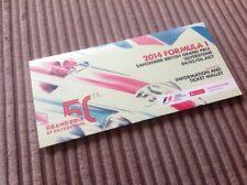 Silverstone Formula 1 2014 Ticket Wallet