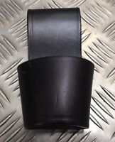 Genuine Military / Police Black Heavy Duty Leather Maglite Holder D Cell PWG1Z