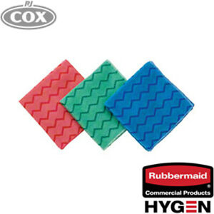 Rubbermaid HYGEN  Microfiber Cloth Proven to remove 99.9% of germs - microbes