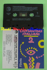MC CANTAUTORI ITALIANI 2 compilation VECCHIONI BENNATO DE GREGORI VENDITTI no*cd