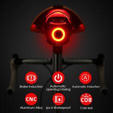 Fahrrad Lampe Rücklicht Bremsinduktion Licht LED beleuchtung USB Bremslicht IPx6