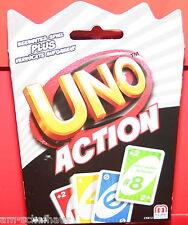 Mattel - Uno Action - Kartenspiel, CKB12