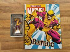 More details for batroc #138 classic marvel figurine eaglemoss & magazine