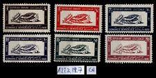 GRAND LIBAN :  Série 122 à 127, Neufs * = Cote 80 € / Lot Timbres COLONIES