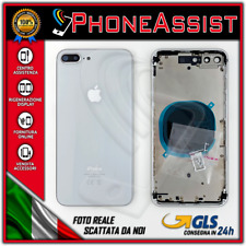 TELAIO SCOCCA POSTERIORE iPhone 8 Plus BACK HOUSING Argento (Silver)