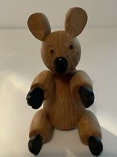 Vintage Wooden Koala Figurine