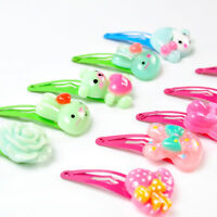 Hot 20pcs Girls Hairpin Mixed Assorted Baby Kid Children Cartoon Hair Pin Bow