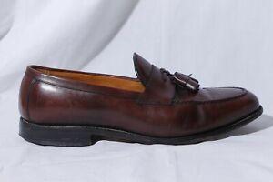 Allen Edmonds Wingham Men's Brown Leather Tassel Loafer Dress Shoes 11.5D