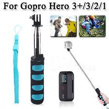 Handheld Telescopic Remote Self-Portrait Monopod Selfie For Gopro Hero 3+/3/2/1