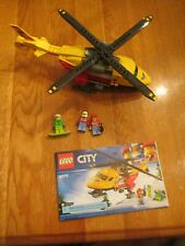 Lego City Ambulance Helicopter (60179) - 100% Complete