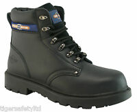 Pro Man PM4002 S3 Outsize Black Steel Toe Cap Safety Boots Work Boots Size 14-16