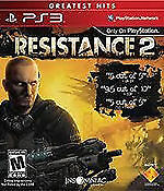 SEALED NEW PS3 Resistance 2 Video Game Greatest Hits Edition Multi Online