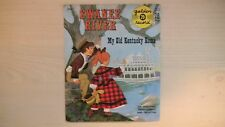 "Golden YELLOW Records SWANEE RIVER/MY OLD KENTUCKY HOME 6"" 78RPM 1959"