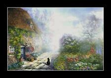 Landscape Print Misty Morning by I Garmashova