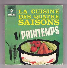 Marabout flash 220 La cuisine des quatre saisons  tome 1 Printemps