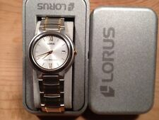New - Reloj Watch Montre LORUS Ref.RVK47AX-9  Quartz Steel Acero Bicolor - Nuevo