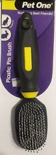 Grooming Plastic Pin Brush for Short Hair Pets - Aussie Seller - Pet One