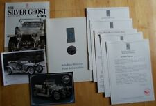 ROLLS ROYCE Silver Ghost 1990 Charity Tour Press pack with leaflets and brochure