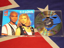 TWENTY 4 SEVEN feat. STAY-C AND NANCE - is it love  4 trk MAXI CD 1994