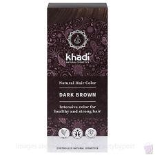 Khadi Herbal Hair Colour Dark Brown Pure Natural Botanical Dye 100g