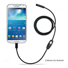 Android OTG Borescope Endoscope Inspection Camera for Samsung S3 S4 S5 S6 HTC M9