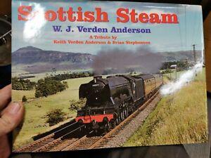 Scottish steam by W. J. Verden Anderson (Hardback) Expertly Refurbished Product