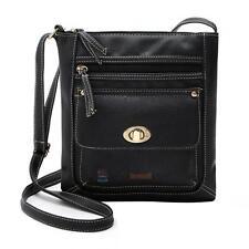 New Fashion Women Girl Leather Messenger Crossbody Shoulder Bag Satchel Handbag
