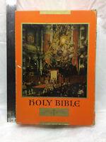 Large Holy Bible in Original Box Vintage 1951