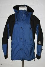 VTG The North Face Gore Tex Blue Black Coat Jacket Sz M Medium
