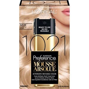 L'Oreal Paris Superior Preference Mousse Absolue 1021 Lightest Icy Blonde