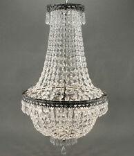 Plafonniers et lustres transparents en cristal pour la maison