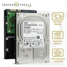 """HGST HUS726040ALE610 0F23005 4TB 7.2K Rpm 512e Sata 6G 128MB 3.5"""" Unidade de disco rígido Enterprise"""