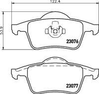 Mintex Rear Brake Pad Set MDB1943  - BRAND NEW - GENUINE - 5 YEAR WARRANTY