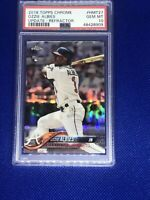 2018 Ozzie Albies PSA 10 Topps Chrome Update Refractor Rookie Rc #/250