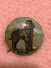 Afghan Dog - Antique Pin
