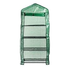 More details for replacement mini garden greenhouse cover spare protective green plastic 4 tier