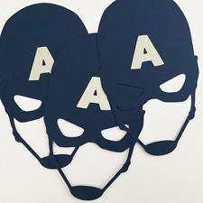 Captain America Mask Birthday Party Decoration Scrapbooking Craft DIY Confetti