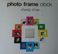 Photo Frame Clock for 12 photos