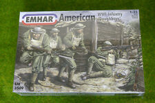Ww1 American Infantry Doughboys 1/35 Emhar 3509