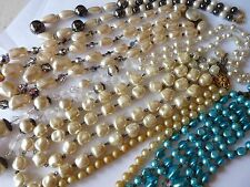 ANTIQUE VINTAGE NECKLACES  / IMPORTANT LOT DE BIJOUX COLLIERS SAUTOIRS ANCIENS