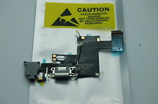 NEW  USB Charging Charger Port Dock Connector Flex Cable grey mic for Iphone 6