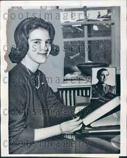 1963 Lovely Princess Anne-Marie of Denmark Press Photo